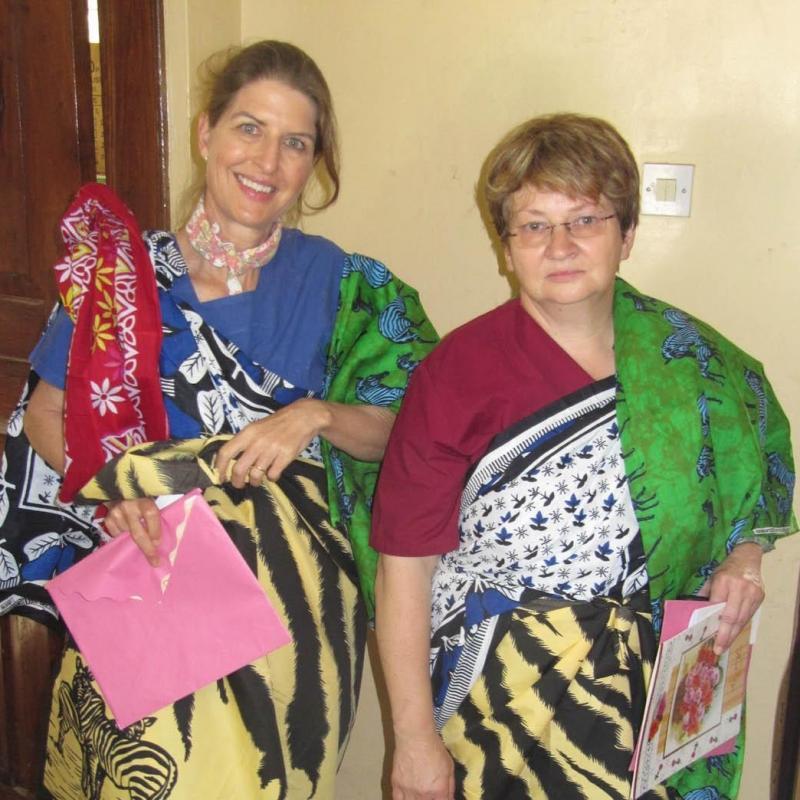 Lise W in Tanzania